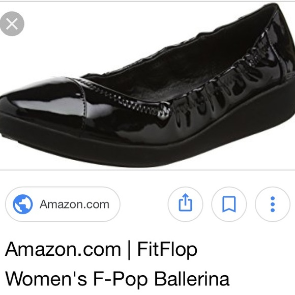 bfcfcdcb2 Fitflop F Pop Ballerina Flats 9 39